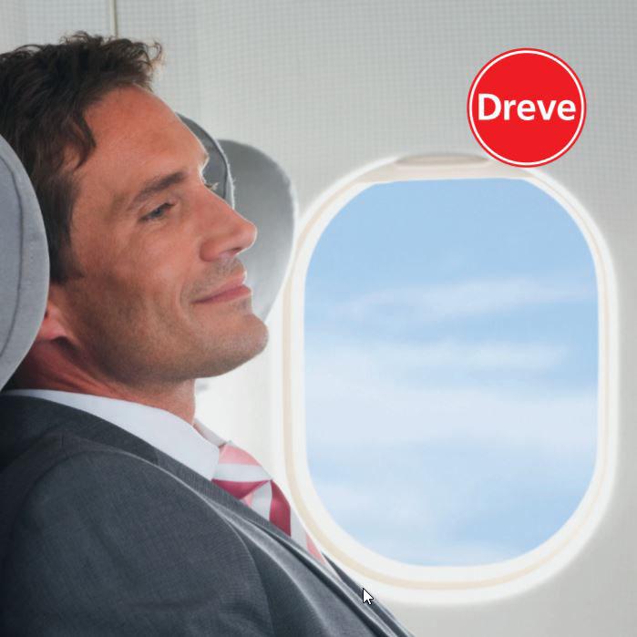 dreve otoplastieken oordoppen vliegtuig