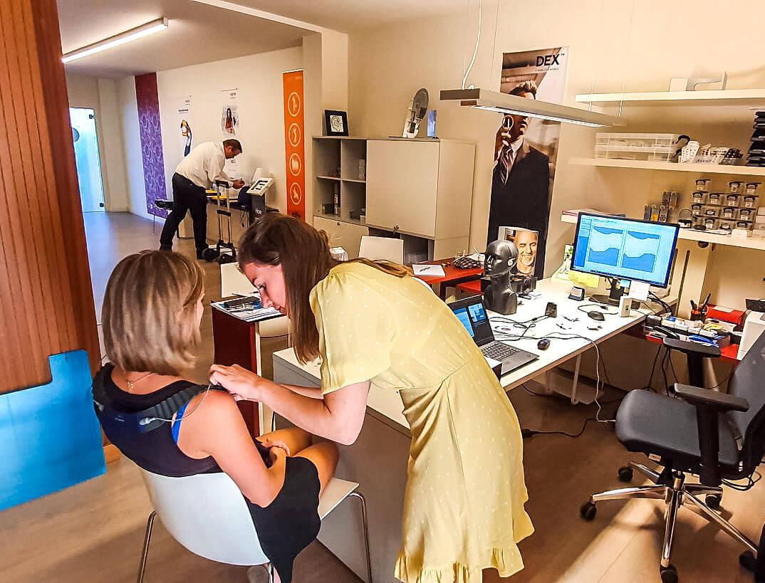 gehoortest real-ear-measurement afstellen hoorapparaat audioloog hoorcentrum norman